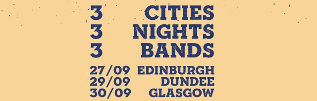 Three Bands, Three Cities, Three Nights.