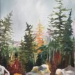Pine Forest Brush Party - Online image