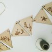 Pyrography Wooden Bunting Workshop image