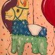 """Paint & cookies """"Pinata"""" at 11am $25 image"""