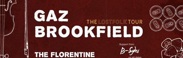 Gaz Brookfield - The Lostfolk Tour with B-Sydes
