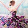 SILVESTER artbird party ONLINE | Tänzerin Glitzer image