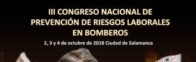 III Congreso Nacional de Prevención de Riesgos Laborables en Bomberos