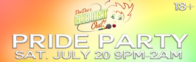 DDCNO presents: Pride Party