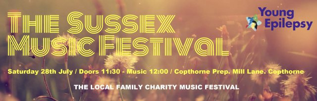Sussex Music Festival 2018 in aid of Young Epilepsy