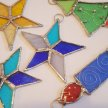 Stained Glass Christmas Decoration Workshop image