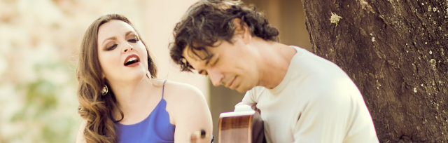 Josué Tacoronte and Paulina Izquierdo