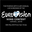 The Phoenix Arts Club's Annual Eurovision Song Contest Party 2019! image