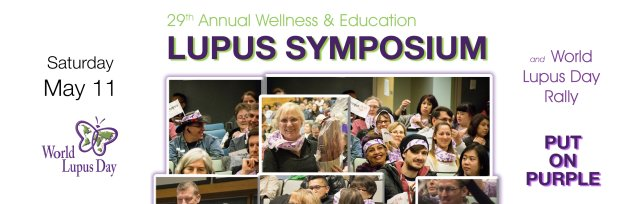 29th Annual Wellness & Education Lupus Symposium