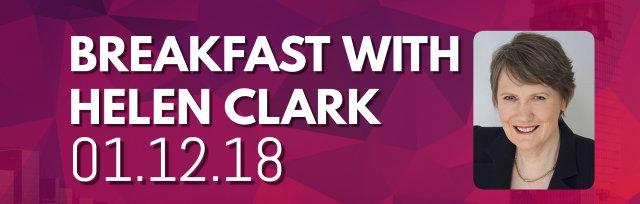 Breakfast with Helen Clark