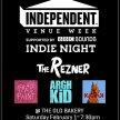 Independent Venue Week 2020 Indie Night - The Rezner - Argh Kid - Facepaint - Kazak image