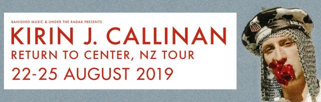 Kirin J Callinan - Return To Center, New Zealand tour