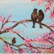 Paint Brush 'n Bubbles (Birds and Blossom) image