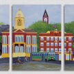 Wabash Triptych Print by Erika Ford image