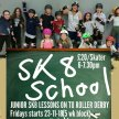SK8 School- Junior SK8 Lessons on to Junior Roller Derby image