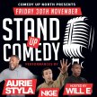 Comedy Upnorth Presents: Stand up Comedy image