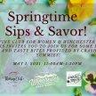 Springtime Sips & Savor! image