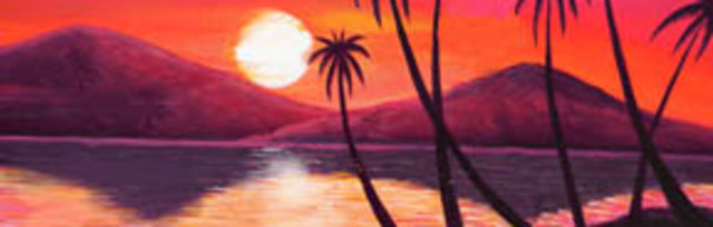 Paint & Sip!Palms at 7pm $25 Upland