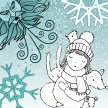The Girl and the Winter Whirlwinds - Stanley Halls image