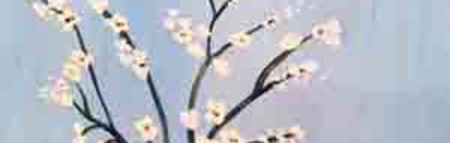 Paint & sip!Almond Blossom at 3pm $29