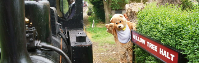 Teddy Bears Picnic at the West Lancs Railway