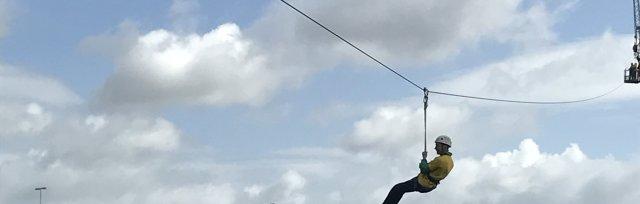 TinyLife Zipline Across the Lagan