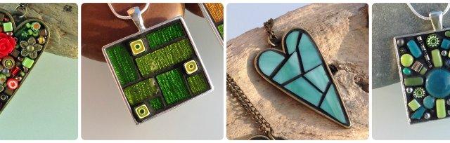 Mosaic Pendants with Yvette Green - £40