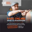 FREE ONLINE Intro to Shakespeare Masterclasses image