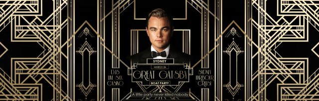Great Gatsby Boat Party - Sydney