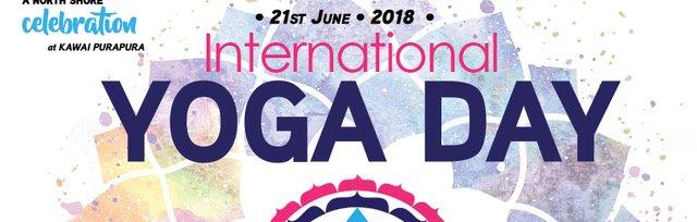 International Yoga Day 21st of June – A North Shore Celebration!