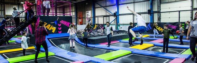 JumpStars disability-friendly trampolining April 2018