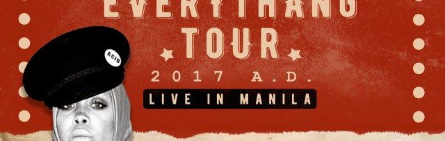 Erykah Badu vs Everythang Tour 2017 A.D., Live in Manila