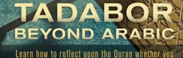 TADABOR BEYOND ARABIC