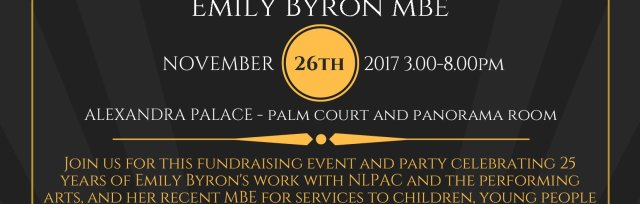 Emily Byron MBE Party Fundraising Event