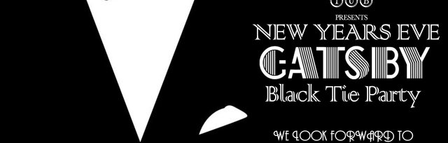 New Years Eve | Gatsby Black Tie Party