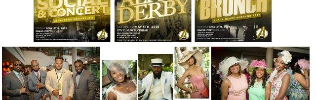Alphas of Atlanta Present: #AlphaDerby (Kentucky Derby Themed Weekend)