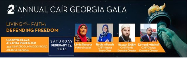 CAIR Georgia's 2018 Banquet: Living Our Faith, Defending Your Freedom