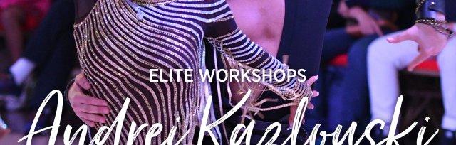 Elite Workshops With US National Professional Latin Champion Andrei Kazlouski