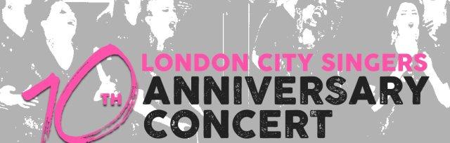London City Singers' 10th anniversary concert