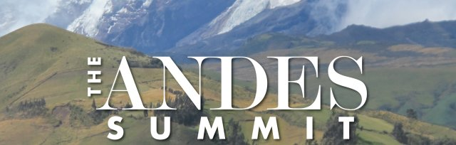 Make Your Deposit - The Andes Summit 2018