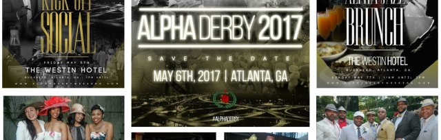 Alphas of Atlanta Present: #AlphaDerby (Kentucky Derby Themed Weekend)