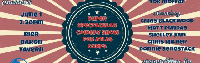 Stand-up Comedy Benefit for Atlas Corps