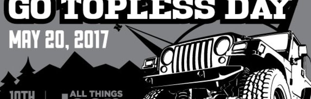Jeeps for Jugs Go Topless Day