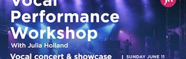 Vocal Performance Workshop & Showcase