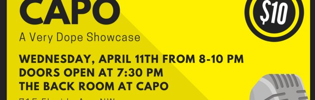 Dope Comedy DC Presents: Laughs at Capo