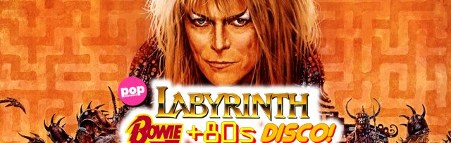 Labyrinth / Bowie / 80s Disco at Night People in Manchester (Sat 14th April 2018)