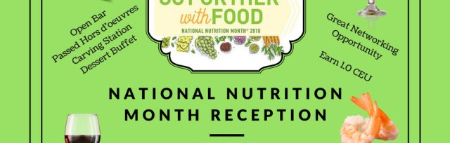 MAND 2018 Annual Meeting & National Nutrition Month Reception