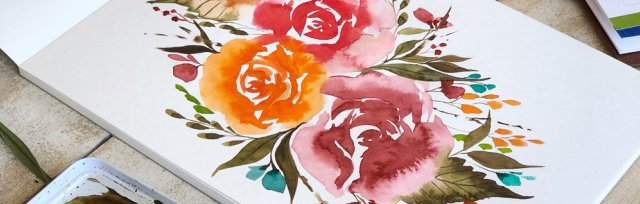 Contemporary Watercolour Workshop - Gathered SA (SUN - PM)