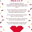 MumBoss Mini Meet Up for those in the weddings and events sector image