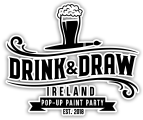 Drink & Draw Ireland: Paint A Canvas